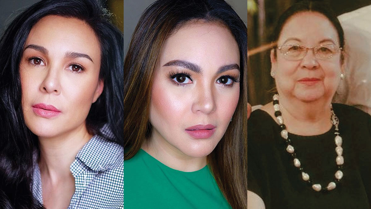 Claudine Barretto replies to netizens asking about her relationship with sister Gretchen, Mommy Inday