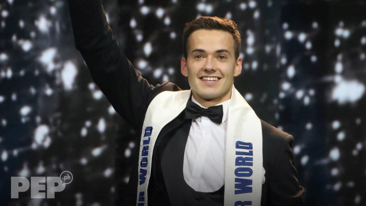 England's Jack Heslewood wins Mister World 2019; Philippine bet JB Saliba hailed as continental winner