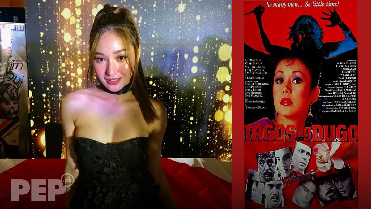 "Newcomer Saczhna to star in remake of Vilma Santos's Tagos ng Dugo: ""Ha? Ako talaga?"""