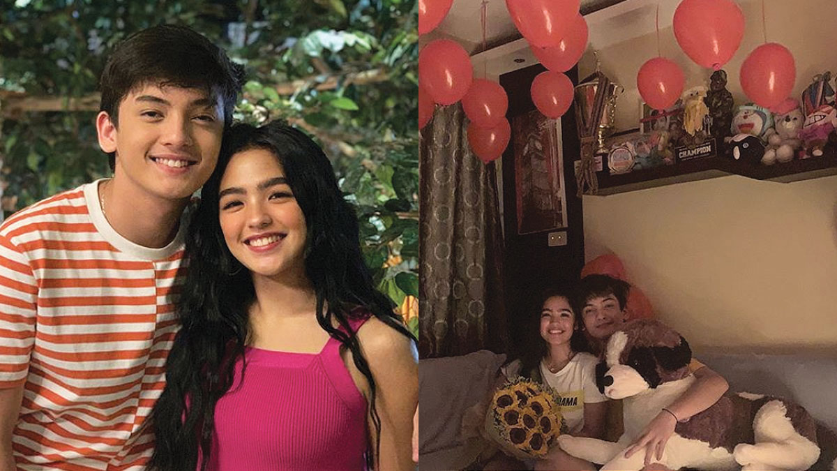 Seth Fedelin asks Andrea Brillantes to be his date to ABS-CBN Ball in a romantic way