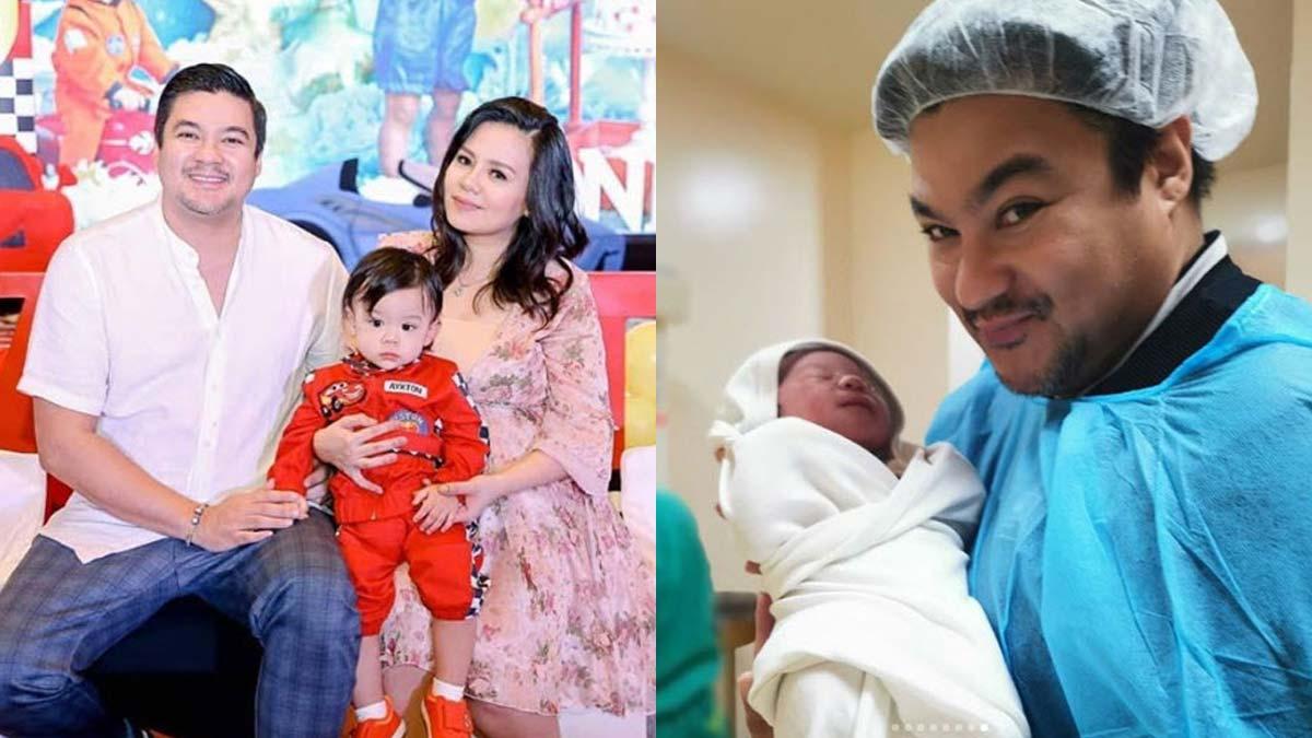 Jomari Yllana, partner Joy Reyes welcome second son