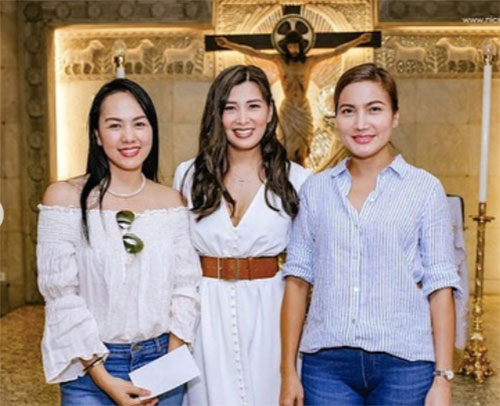 Mia Pangyarihan, Cynthia Yapchiongco, Sunshine Garcia