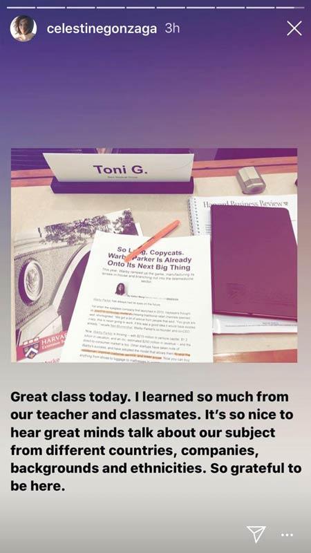 Toni Gonzaga Harvard University