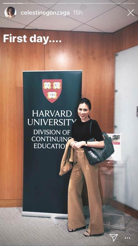 Toni Gonzaga Harvard studies