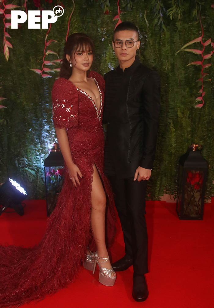 Loisa Andalio, Ronnie Alonte ABSCBN Ball