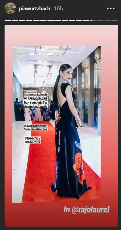 Pia Wurtzbach Red Charity Gala 2019