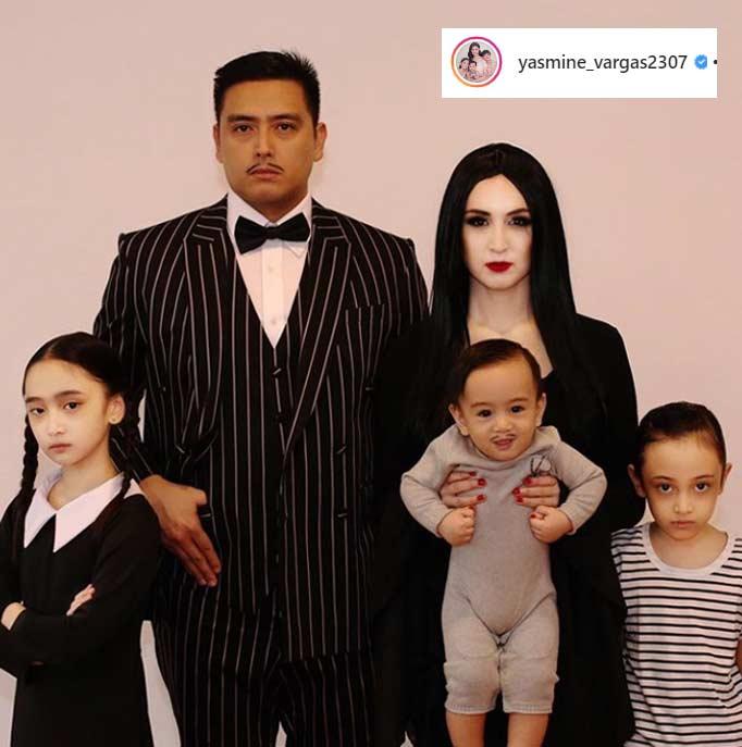 Alfred Vargas Addams Family Halloween 2019