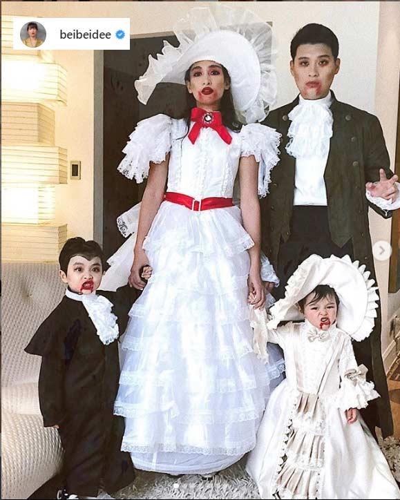 Bea Soriano family Halloween 2019