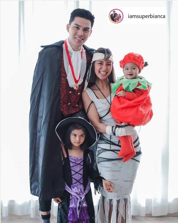 Bianca Gonzalez daughter Carmen birthday Halloween 2019