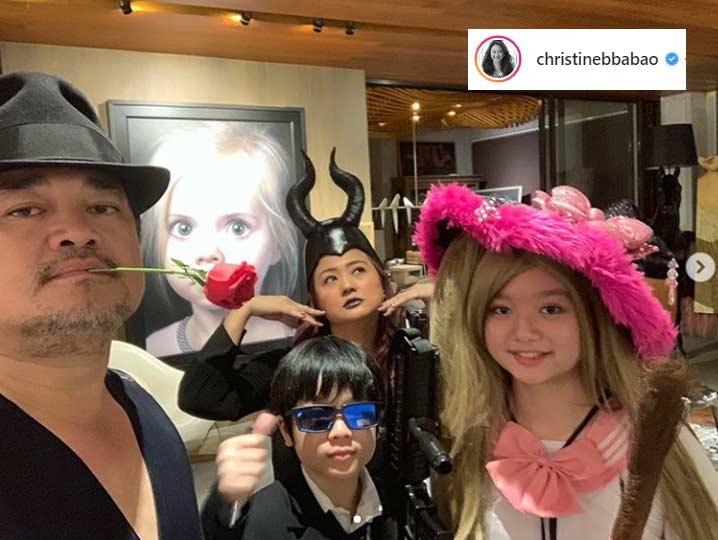 Julius Babao, Christine Bersola Halloween 2019