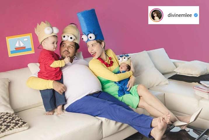Divine Lee family Halloween 2019