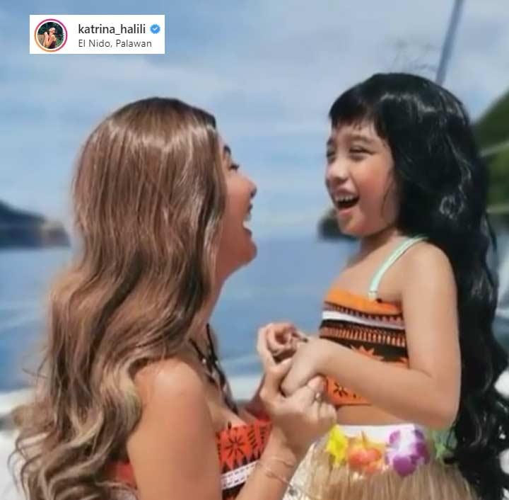 Katrina Halili daughter Katie Halloween 2019