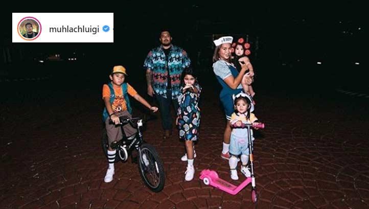 Luigi Muhlach family Halloween 2019