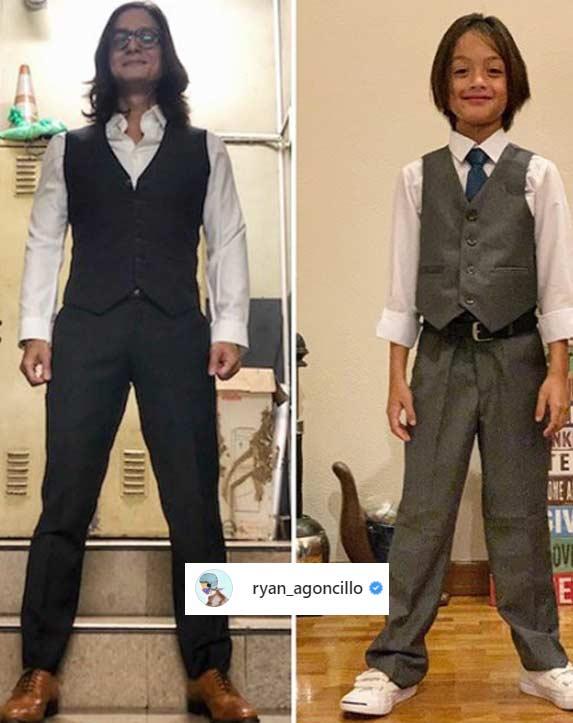 Ryan Agoncillo, Lucho Agoncillo Halloween 2019