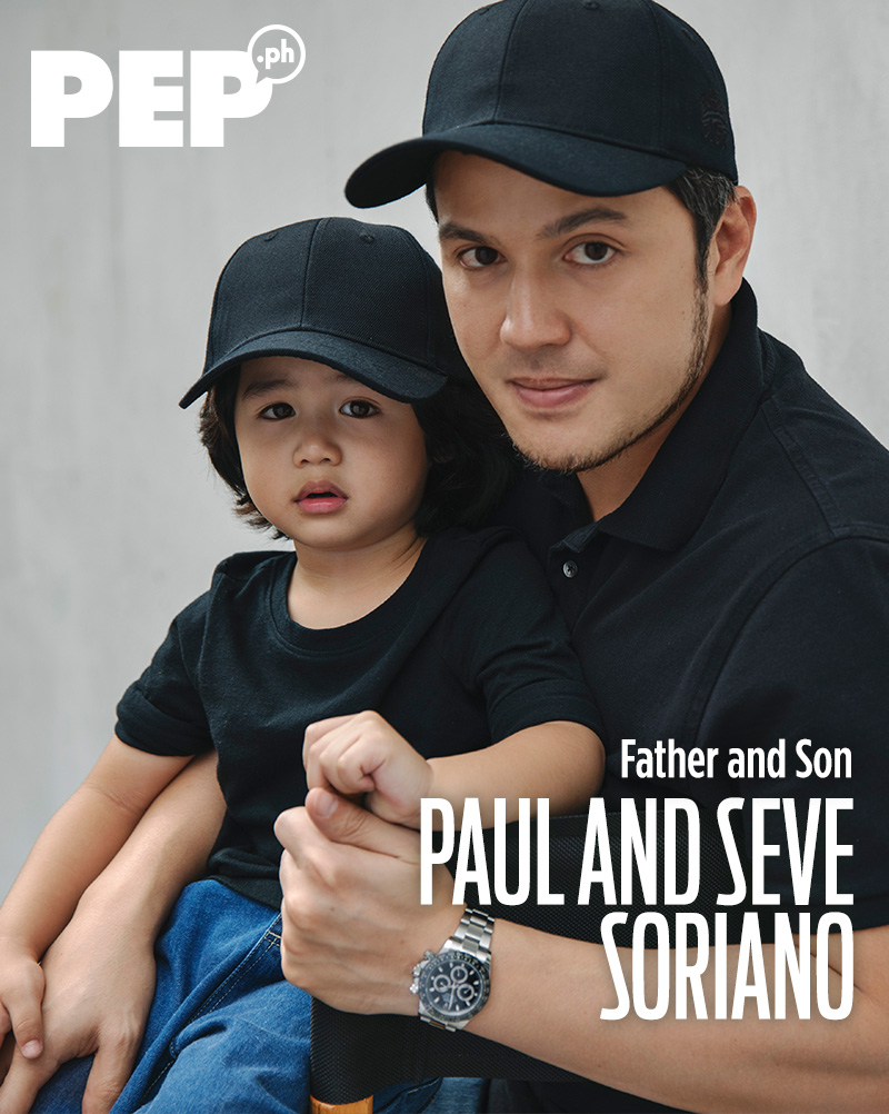 Paul Soriano, Seve Soriano father and son