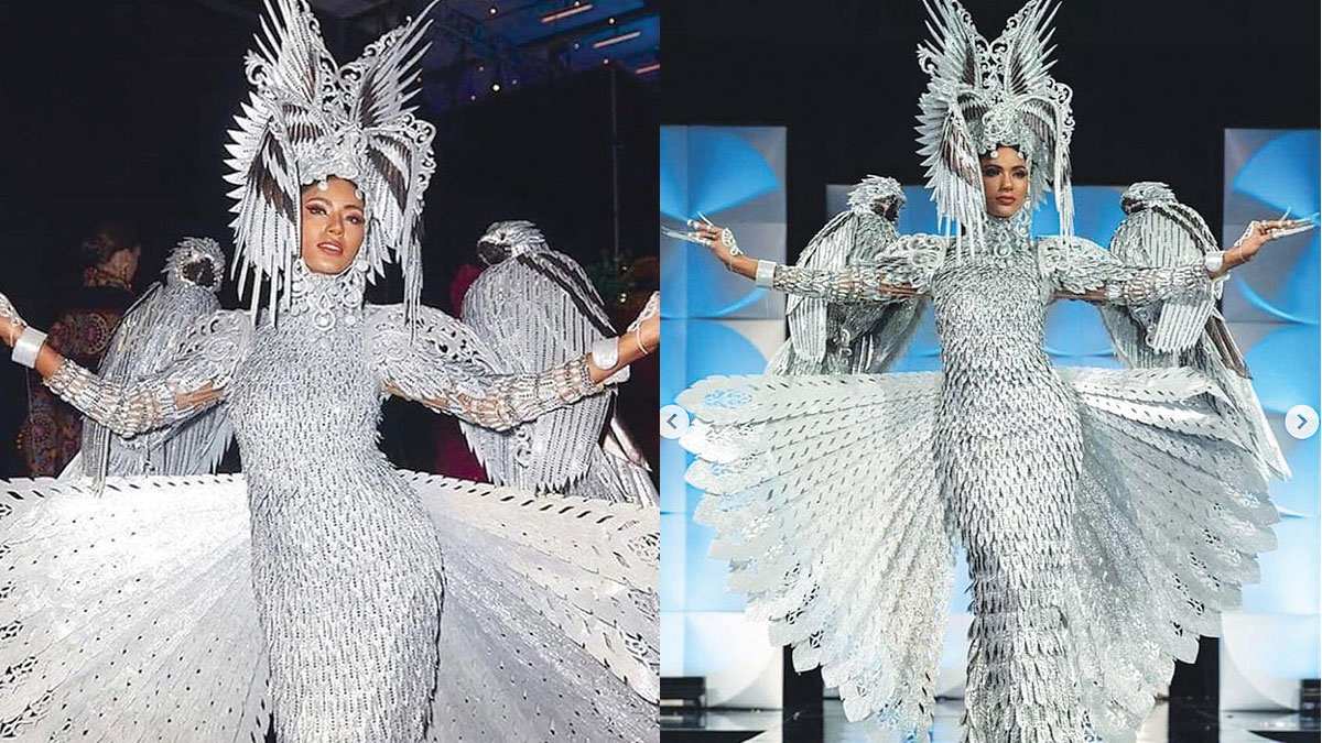 Gazini Ganados mistakenly announced as Best National Costume