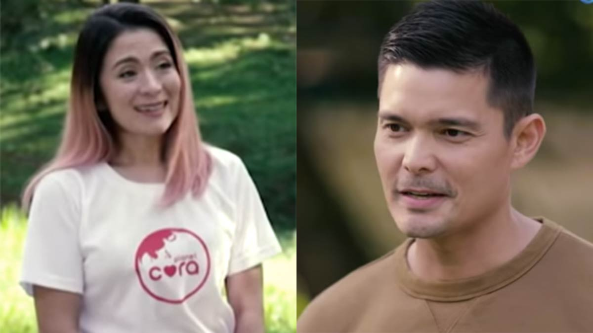 Dingdong-Antoinette Taus reunion in Amazing Earth vs. ABS ...