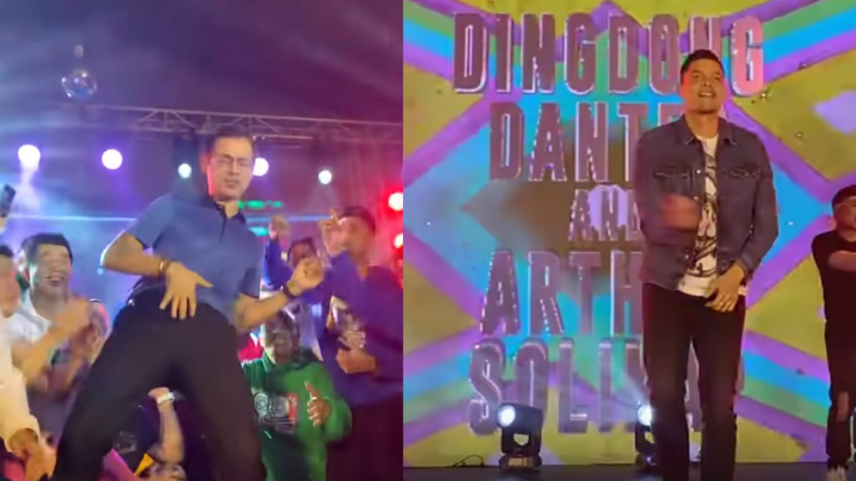 Isko Moreno , Dingdong Dantes bring the house down at  90s dance concert