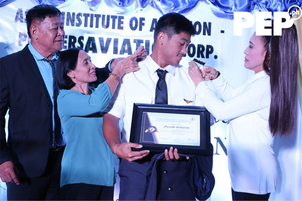 Gerald Sibayan parents
