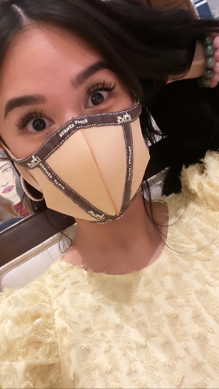 Heart Evangelista fashionable face masks