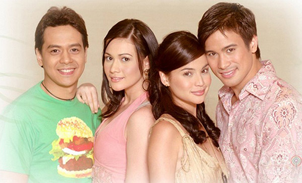 Bea Alonzo, John Lloyd Cruz, Anne Curtis, Sam Milby in Maging Sino Ka Man