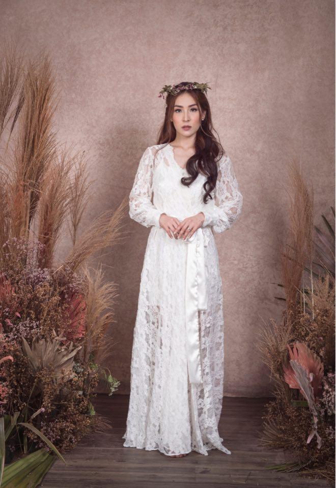 Heart Evangelista robe