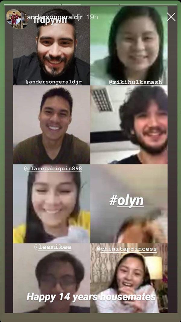 Pinoy Big Brother teens video call