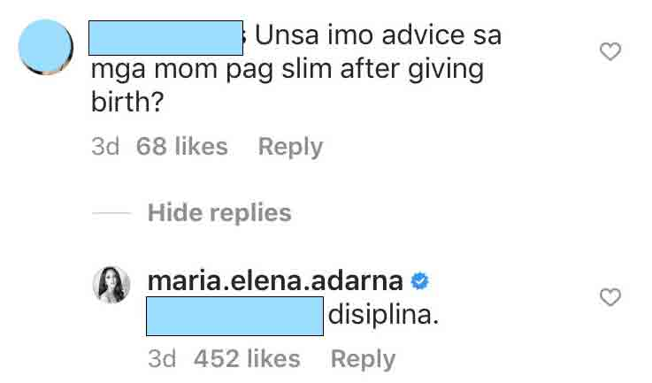 Ellen Adarna shares fitness tips for postnatal