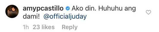 Judy Ann Santos Amy Perez Instagram exchange