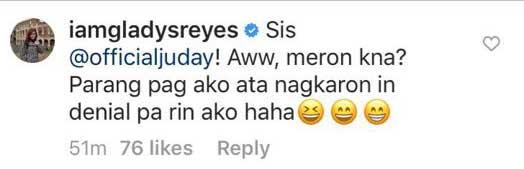 Judy Ann Santos Gladys Reyes Instagram exchange