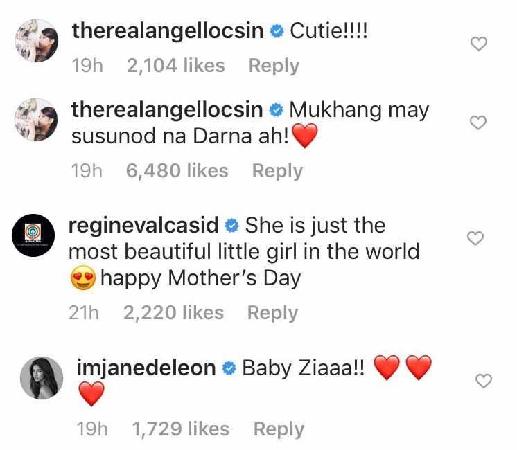 Angel Locsin, Regine Velasquez, Jane De Leon react to Zia Dantes as baby Darna