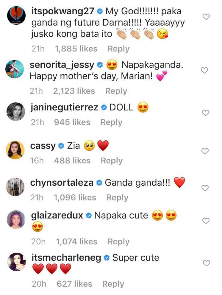 ABS-CBN and GMA-7 stars react to Zia as Baby Darna