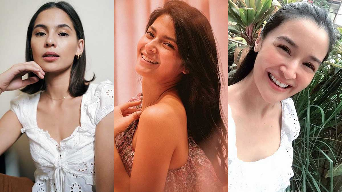 instagram photos of jasmine curtis-smith, bianca umali, kris bernal