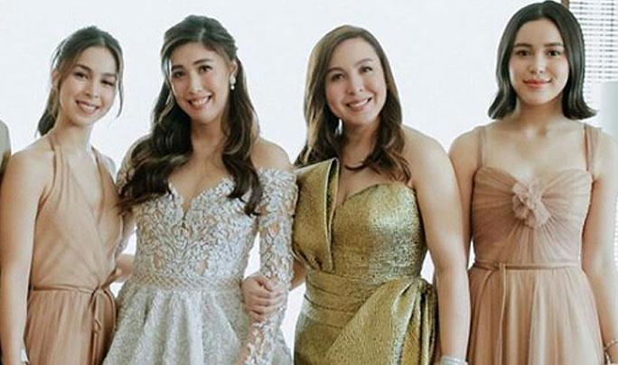 marjorie barretto daughters dani barretto wedding