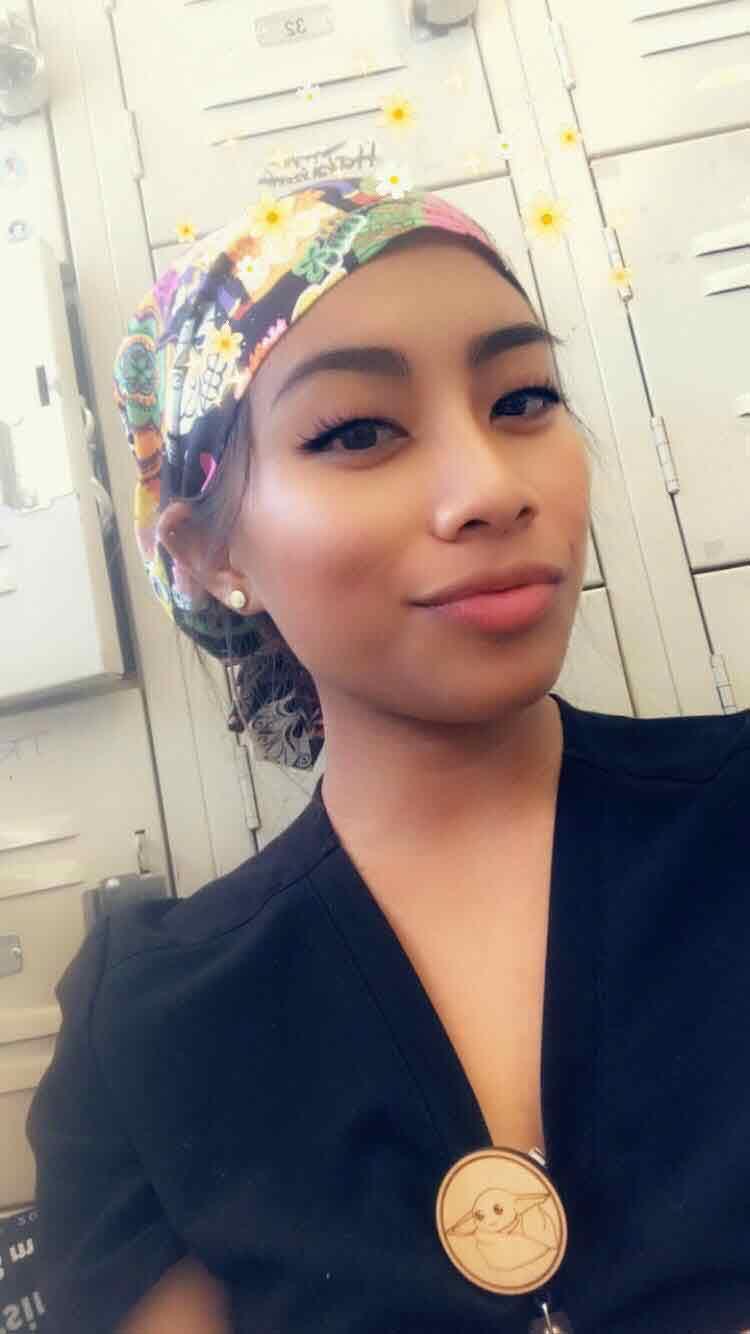 Pinay nurse in the States ordinary juan