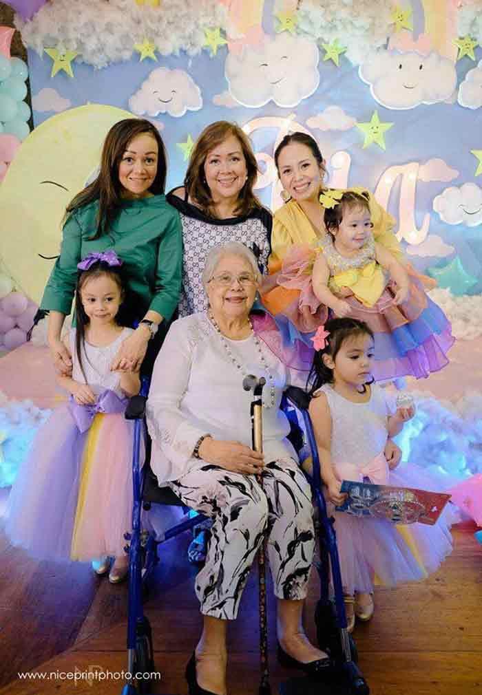 Nikka Martinez-Garcia five generation of women