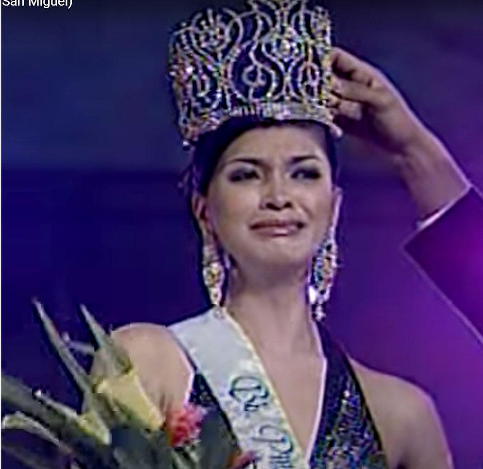 janina san miguel crowning