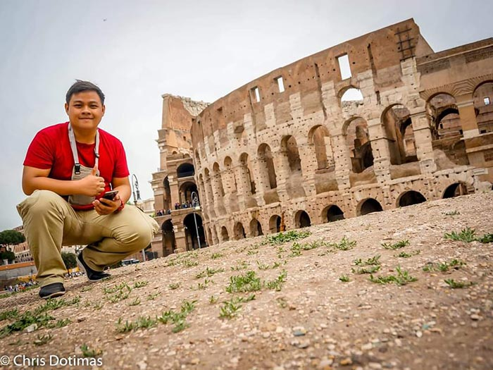 Christopher at The Colosseum