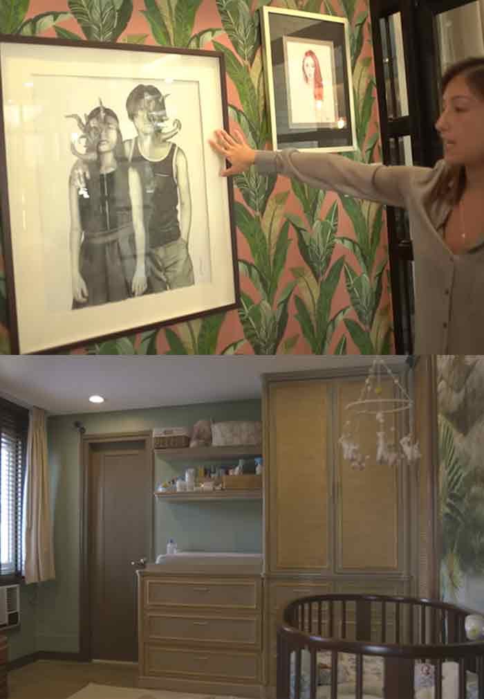Celebrity home decor Solenn Heussaff
