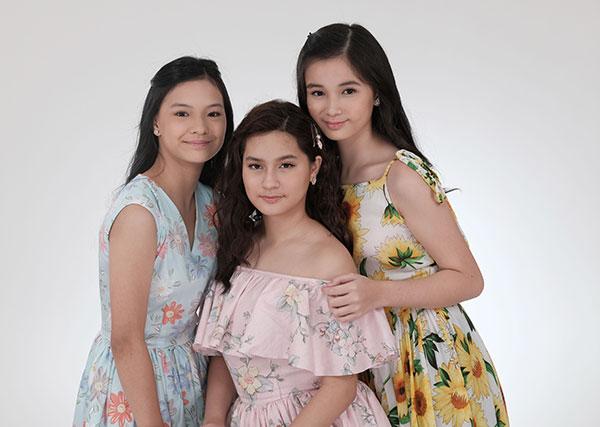 Althea Ablan, Jillian Ward, and Sofia Pablo are the three lead stars of Prima Donnas.