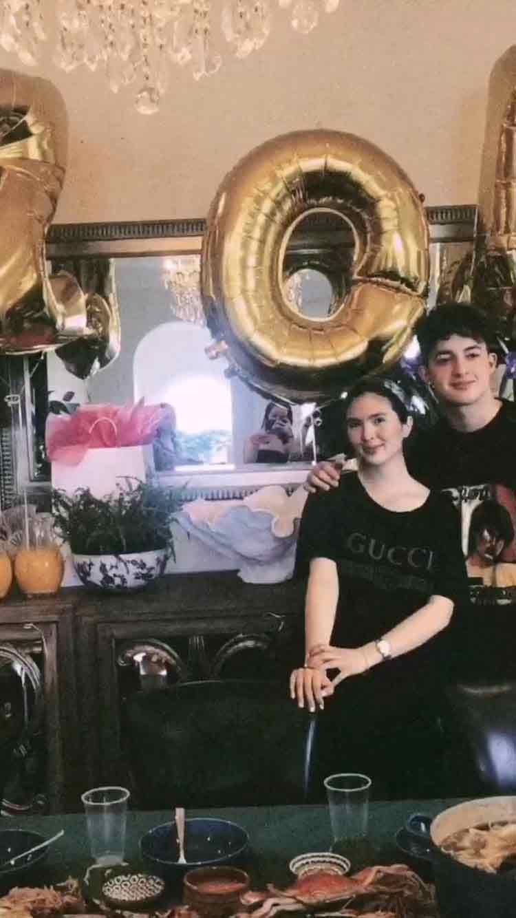 Sofia Andres baby shower in Australia
