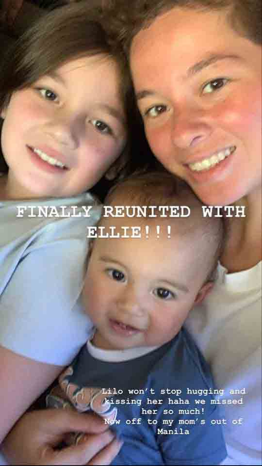 Andi Eigemann daughter Lilo and Ellie