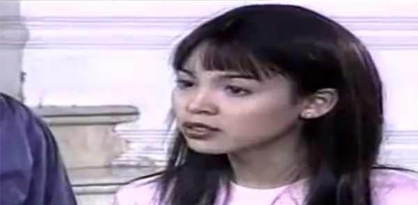 Claudine Barretto as Rosemarie in Saan Ka Man Naroroon