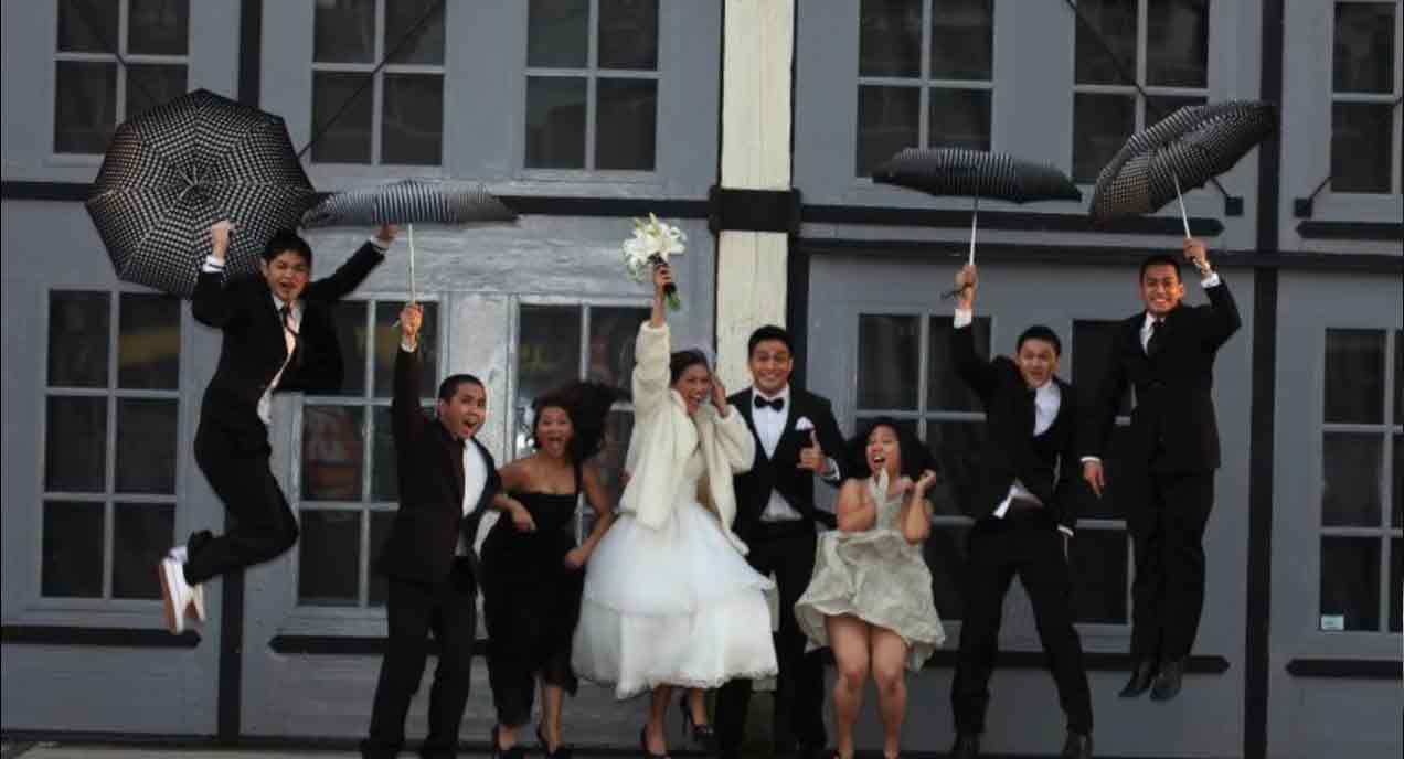 Lara Quigaman, Marco Alcaraz wedding
