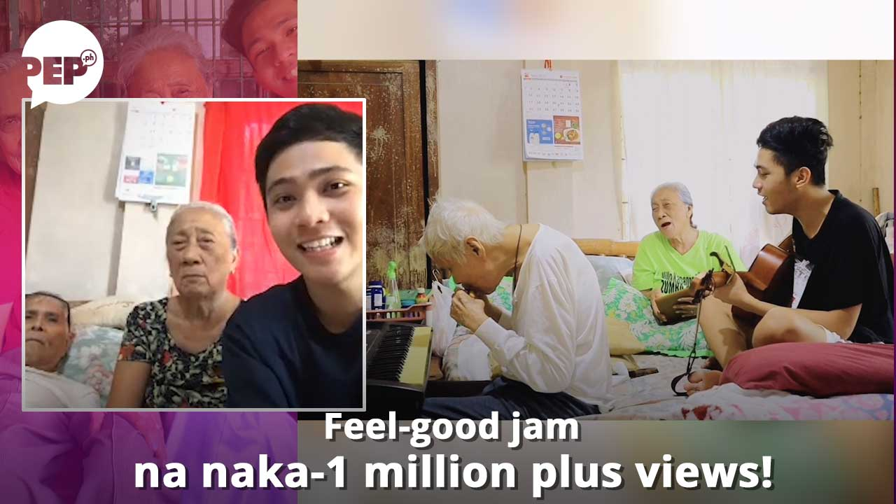 viral apo singing with his lolo and lola, daniel joseph espinola rocio
