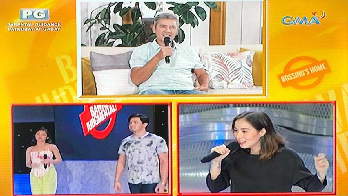 Cristine Reyes in Eat Bulaga's Bawal Judgmental July 18, 2020