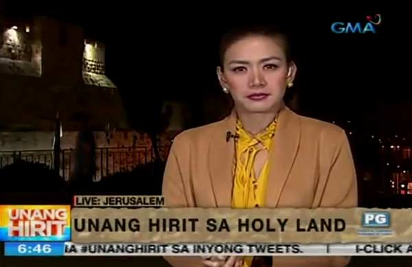 Rhea Santos Unang Hirit