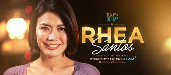 Rhea Santos Tunay na Buhay