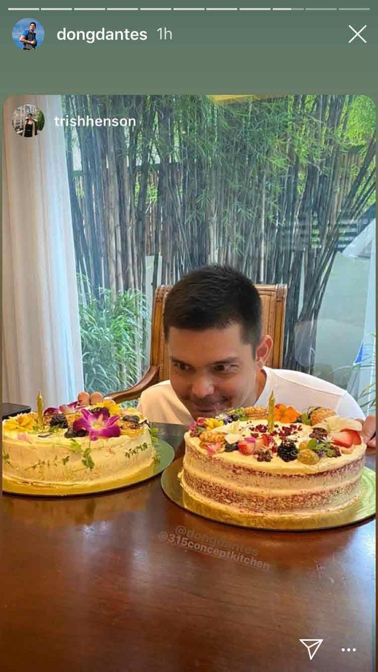 Dingdong Dantes 40th birthday