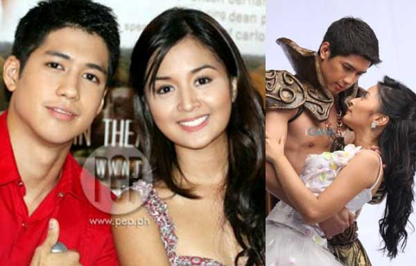 Kris Bernal and Aljur Abrenica in The Last Prince